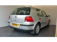 2001 | Volkswagen Golf 1.6 SE 5dr | Automatic | 2 Former Keepers | 9 months MOT | Very Low Mileage