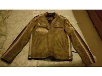 Biker Leather Jacket (£75 ono.)