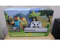 Xbox One S Minecraft Console Bundle 500GB - BRAND NEW & SEALED