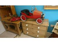 A lovely old brum style pedal car