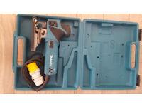 Makita 4351FCT 110v Jigsaw Orbital Action with Tool-less Blade Fixing