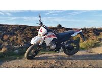 Yamaha XT125 X Supermoto style road legal learner motorbike