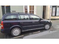 Vauxhall Astra Estate 1.7DTi, 2003, Full Service History. £600 ONO.