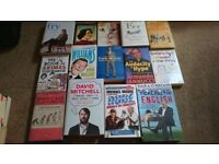 Comedy Book Collection over 14 books £5 the lot.