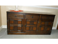 Solid Wood Sideboard - Free to Collect