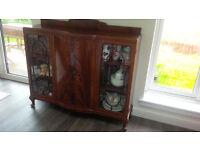 Antique Wooden Sideboard / Cabinet