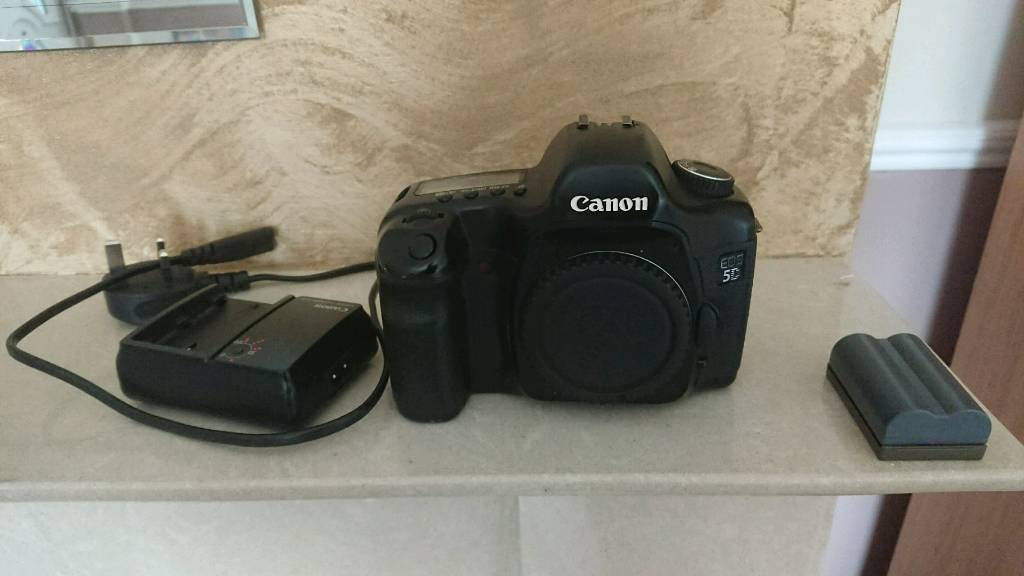 Canon 5d Mark 1 full frame body plus 2 batteries and charger.or swap ...