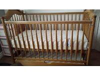 Cot with draw underneath
