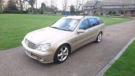 2004 Mercedes c220 Advantgarde SE Sport Estate