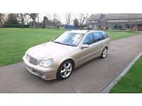 2004 Mercedes c220 Advantgarde SE Sport Estate