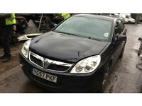 2007 Vauxhall Vectra Life CDTI 120 5dr 2ltr Black BREAKING FOR SPARES