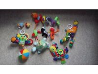 8 baby toys