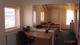 4-5 Person Office Available fr £150wk Fully Services/24hr Access/Car Pk.5 mins fr M275/Ports Central