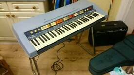 RARE Vintage Welson Gypsy Star Stage Organ keyboard retro cool