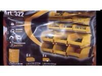 Brand New Garage Tool Rack wall kit storage Tool Organiser Shelving Unit