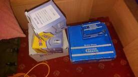 Brake pads and discs oil filter citroen toyota