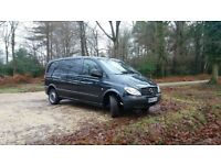 Mercedes Benz Vito 2.1 cdi. FSH. 1 owner. MOT-14/11/18. 108245 miles only.