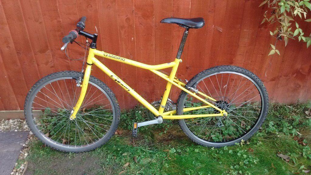 Daewoo mountain bike - in good condition   in York, North Yorkshire