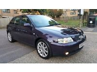 2003 AUDI A3 1.8T SPORT MANUAL PETROL 5 DOOR HATCHBACK ONLY 60.000 MILES WITH FULL SERVICE HISTORY