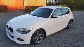 BMW M135i 320 BHP White