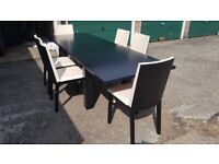 Skovby dining table and 6 x chairs (Purchased @ Dansk)