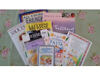 French and Italian Cookery book bundle