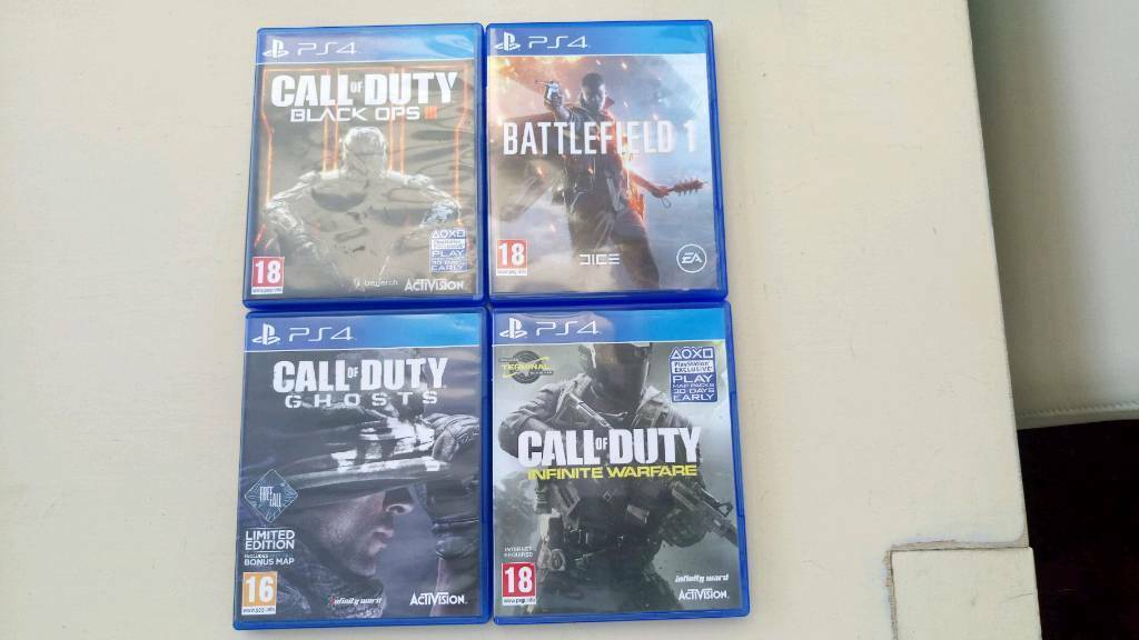 Ps4 games, open to offers