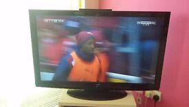 "Hitachi flat screen TV 42"""