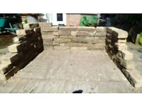 Bricks for garden wall