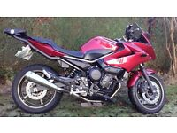 Yamaha XJ6 Diversion. 2011. Excellent condition. 3 months left on MOT. 5462 mileage