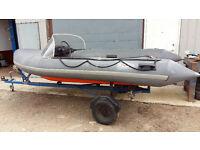 Rib Speedboat Inflatable boat
