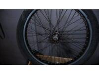 Back wheel for stunt BMX (F303 Xrims 406 x24 by Alex)