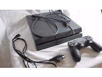 Sony Playstation 4 PS4 Jet Black 500gb