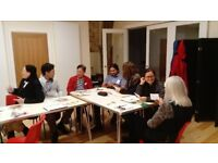 FREE Open to God English course, lessons in Bath, UK. Qualified teachers, friendly informal group