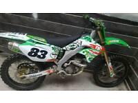 Kx 250 2005 (swap road bike)