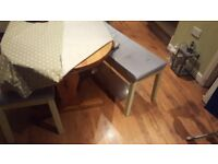 Vintage Retro Style Country Cottage Style Pine Dining Table