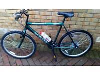 22inch frame 21speed gleaming mountain bike /commuting