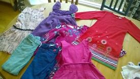Collection of girls clothes age 6/7/8 years. John Lewis/Gap/Joules/Marks & Spencer - great value.