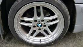Bmw 5x120 parallels wheels an tyres..255.40.18