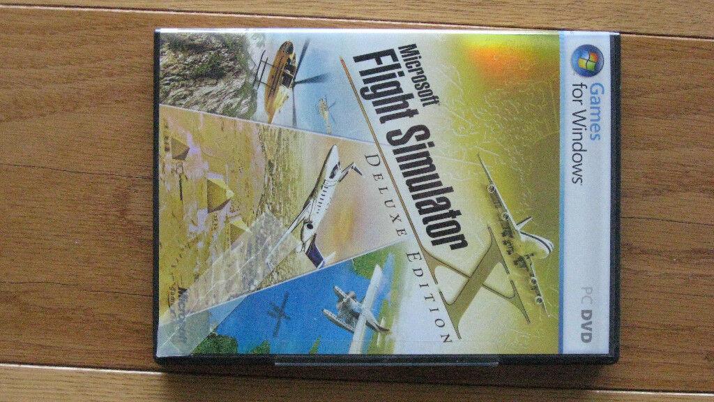 Flight Simulator Microsoft FSX de Luxe with guides, case & key | in  Sandgate, Kent | Gumtree