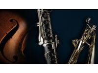 Music Tuition - Violin, Clarinet, Piano, Music Theory, Harp Lessons