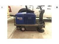 Nilfisk Electrolux Euroclean road sweeper indoor / outdoor