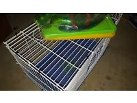 Brand New Large Bird , Hamster, Rabbit, Ferret Cage - with toys and accessories