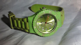 Ice Watch Lime Green Large (also have Rolex, Gucci, Breitling, AP, Omega Chanel, MK, Kors,Ice)