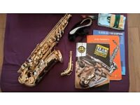 Jupiter 500 Alto Saxophone (Second Hand) wants a good home