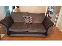 Grey 3+2 seater couch
