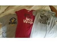 Plain lazy tshirts womans t-shirt size xl 14