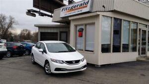2013 Honda Civic LX SEDAN – BLUETOOTH! HEATED SEATS!