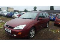 * CHEAP BARGAIN WITH LONG MOT * FORD FOCUS 1.6 PETROL ESTATE