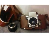 Vintage 1950s Praktica camera